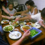 Dinner at granny's