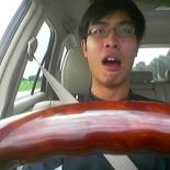John at the wheel.. duh uh