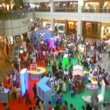 Suntec city in its usual exhibition state