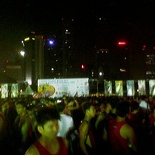 As expected, its crowded!