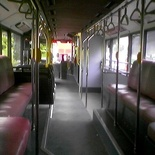 The bus to myself