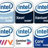 New Intel logos