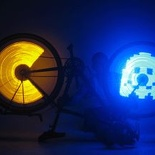 SpokePOV LED Bike Wheel Images