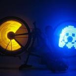 SpokePOV LED Bike Wheel Images