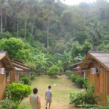 "our cozy little ""chalet"" huts"