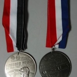 Last & present year AHM finisher medals