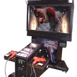 House of the Dead 4 aracde machine
