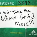 Adizero Tag - 42km is more value for money!