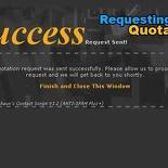 Form Success Message