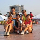 The morning running group