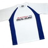 Real Run 2007 Blue Event Shirt