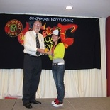 Presentation of appointment by Rotarian Wolf