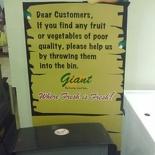 Giant Supermarket Bin