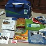 Standard Chartered Marathon SCM 2007 Racepack items