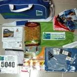 Standard Chartered Marathon SCM 2007 Racepack items closeup