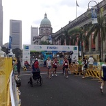 The finish line (at 1.30pm)