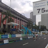 There are still a handful of runners finishing past 1pm