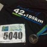 The marathon finisher package