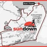 Sundown marathon 2008 Raceroute