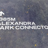 Here we are at the Alexandra Queenstown Park Connector!