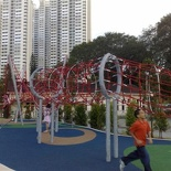 Another playground, this time a bungee jungle!