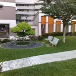 Few of the micro parks with therapeutic facilities along the route.