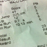 My 2007 IPPT in 2008, Sliver.. well at least not a pass!