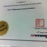 Got my Spinnovex Gold Award Cert