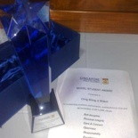 Shaun's 2008 SP Model Student Award