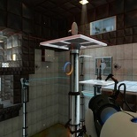 One of valve's portal chamber maps