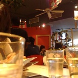 Mother's day dinner at cafe cartel