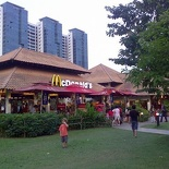 it's own macdonalds as well! whoa so thats where everyone's gone to!
