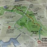 Southern Ridges Routemap