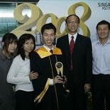 Family Photo with our Principal Mr Tan Hang Cheong
