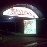 Sakura restaurant entrance