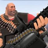 Heavy's Natascha Minigun