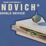 The heavy sandvich edible device