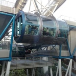 View of the capsules from the 2nd floor