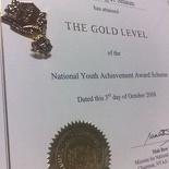 Nyaa Gold 2008 Certificate