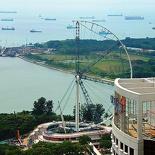 <b>Singapore flyer construction</b> - Singapore flyer construction