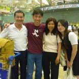 Departure at Singapore Terminal 3