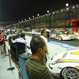 The buzzles of the pit area