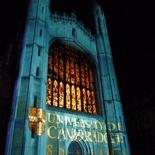 Cambridge 800th anniversary light show