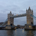 Next stop, the big.. umm tower bridge in person!
