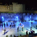 & has it's own Christmas ice rink to boot.