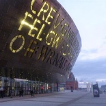 The Wales Millennium Centre! or sort of!