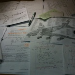 Loaded revision study table