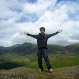 At the Lake District mountains!