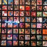 Wall of vinyls