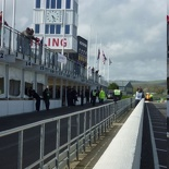 Overview of the pit lanes